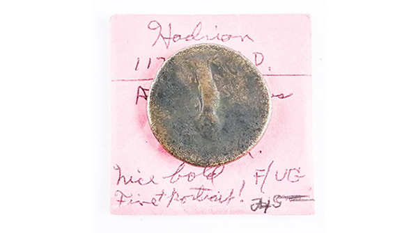 Ancient Coin - 'Hadrian' (117-138 A.D.) AE 'Sestertius' F/VG https://auction.auctionnetwork.ca/Ancient-Coin-Hadrian-117-138-A-D-AE-Sestertius-F-VG_i36070117 … - Online Auction Wednesday February 19th, 2020 At 7:00 PM EST. Collector Estates | #Coins #Banknotes #Bullion #Art #Jewellery #SportsMemorabilia #Collectibles & More! #OnlineAuction #CoinAuctions pic.twitter.com/9QKc8tA09C