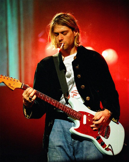 In loving memory of Kurt Cobain. Happy Birthday! Your legacy will live on forever.