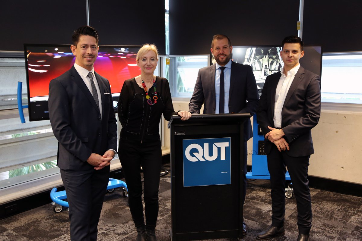 The BMW Group and QUT Design Academy was officially launched at QUT Gardens Point yesterday and is expected to become an innovation hot spot for real world projects: http://bit.ly/2SItFR6  @BMWGroup @CreativeIndust @QUTdesign #BMWGroup #QUT