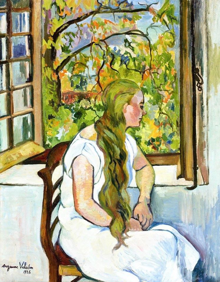 #SuzanneValadon  Germaine Utter in front of the Window (1926)