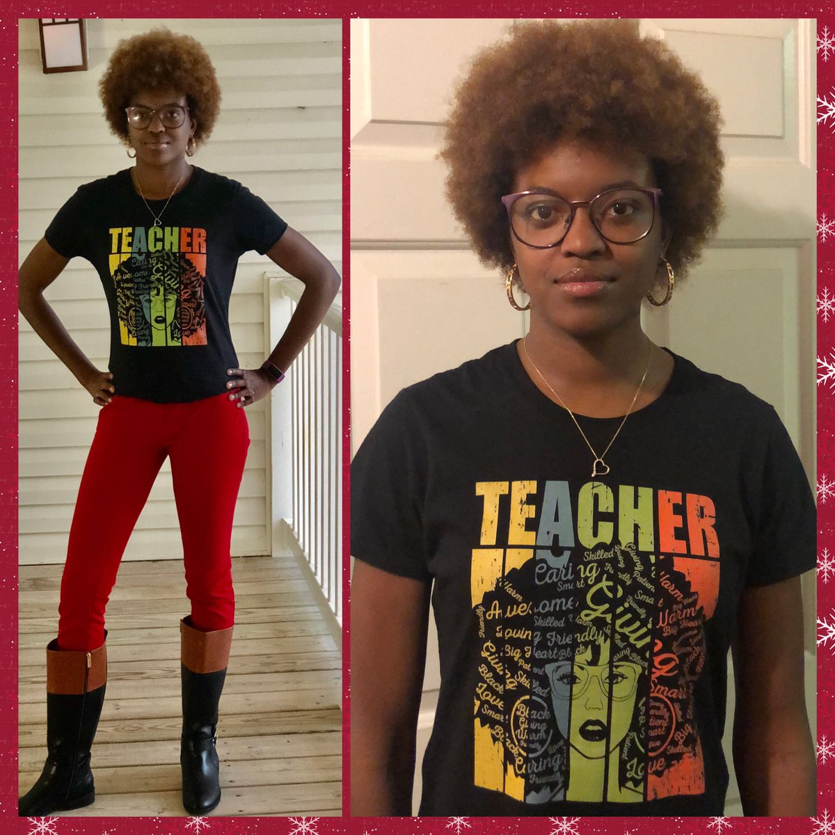 Because... #BlackHistoryMonth Because... #RedForEd Because... 🥰😍🥰 #teacheroutfit