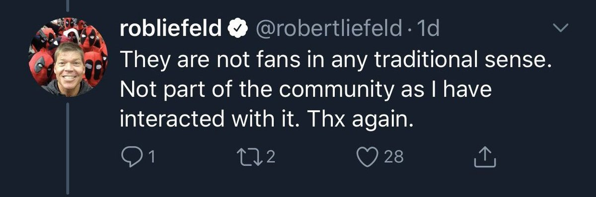 Ant Laaaast Christmas On Twitter Rob Liefeld Has Spent The Last Week Criticizing Harley Quinn S Look In Birds Of Prey This Isn T In And Of Itself Wrong Even If He Presents Only Proud parent of 3 terrific kids, husband to joy. twitter