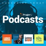 Image for the Tweet beginning: FOUR hit podcasts at PragerU,