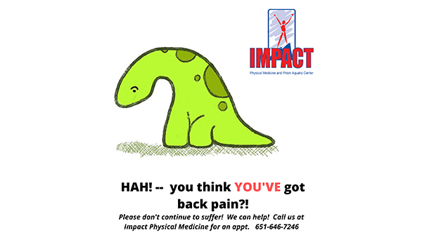 We have an excellent medical team waiting to help you! Find out more at  http://impactphysicalmedicine.com   #backpain  #PT  #OccupationalTherapy