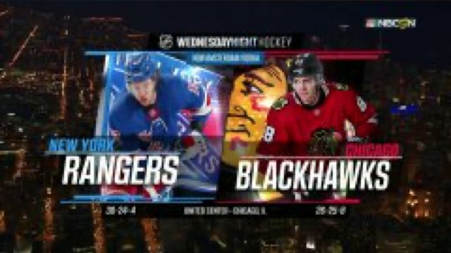 #NHLTicket #WNH Welcome to Wednesday Night Hockey!  It's the @NYRangers vs. @NHLBlackhawks NOW.  📺: NBCSN