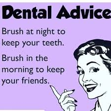 Keeping both your friends and your #teeth is easy. Just brush.  #memepic.twitter.com/TFPrtm2pwk