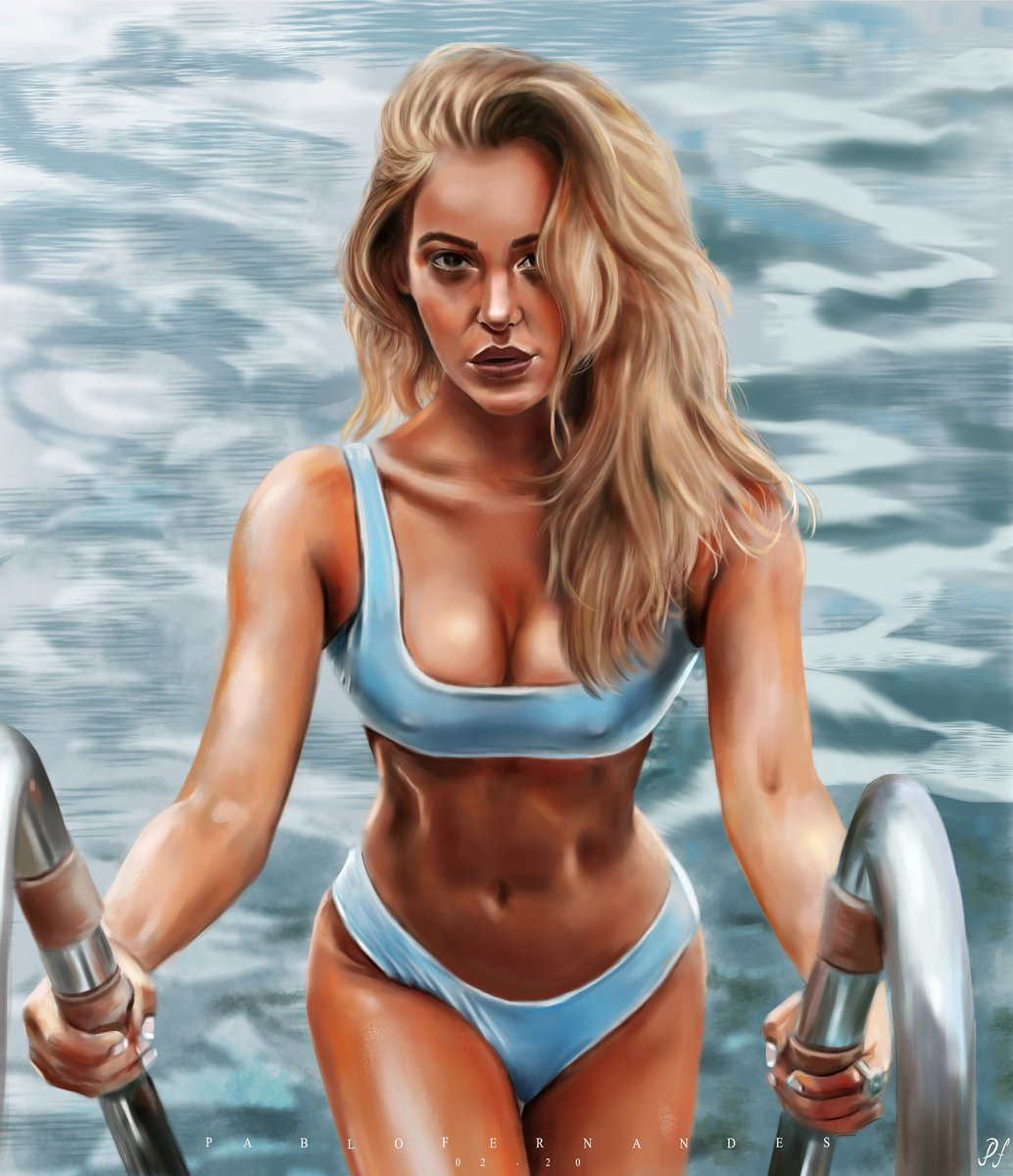 Summer Muse   #art #artdraw #drawing #digitalart #digitalpainting #dibujo #portrait #portfolio #photography #krita #studie #photoshop #instaart #instagood #artwork #artworld #summer #beach #pool #muse #girl #blond #loira #pinturadigitalpic.twitter.com/k3WHtwn3Df