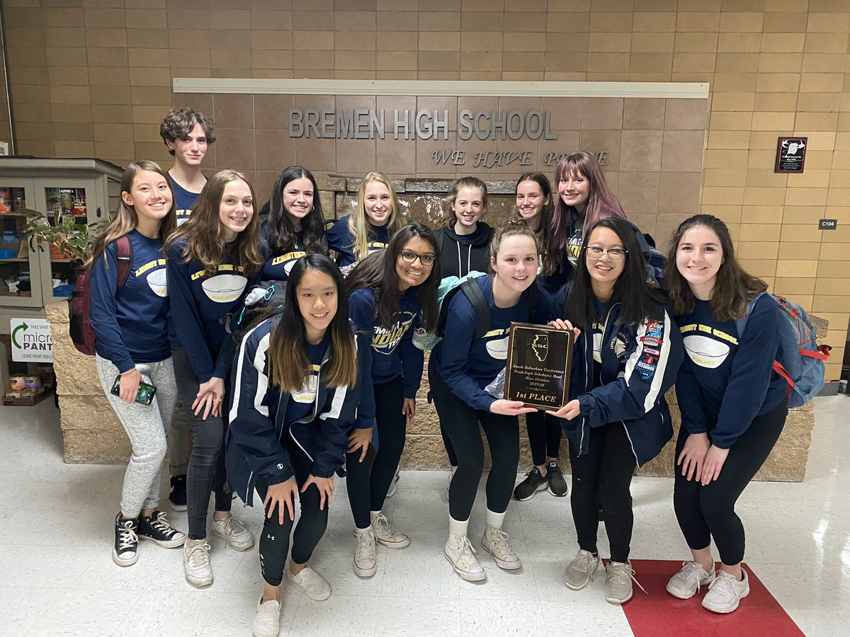 The future is bright for LHS Scholastic Bowl as our JV team won 1st place in the IHSA Blue Conference at Bremen HS!! Awesome job! #GoLemontpic.twitter.com/gMopV8zehl – at Bremen High School