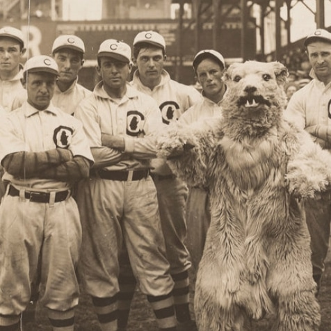 #NoFilterNeeded for this #Cubs #WaybackWednesday. What are your thoughts on that mascot?pic.twitter.com/3EaXwpWkKy