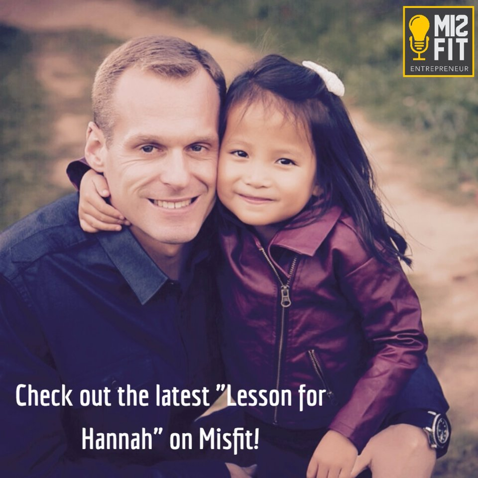Dont Miss Lessons for Hannah: 5 Important Financial Lessons  I share 5 financial lessons I wish I learned earlier in life and how you can use them in yours.  Listen Weds  http://www.misfitentrepreneur.com/podcast.html    #Success  #personalgrowth  #Successful  #action  #Successtips  #mindset  #Succeed  #life