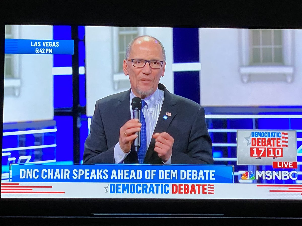 Still amazing @MSNBC allows a #DNC infomercial prior to a presidential debate. This is embarrassing.