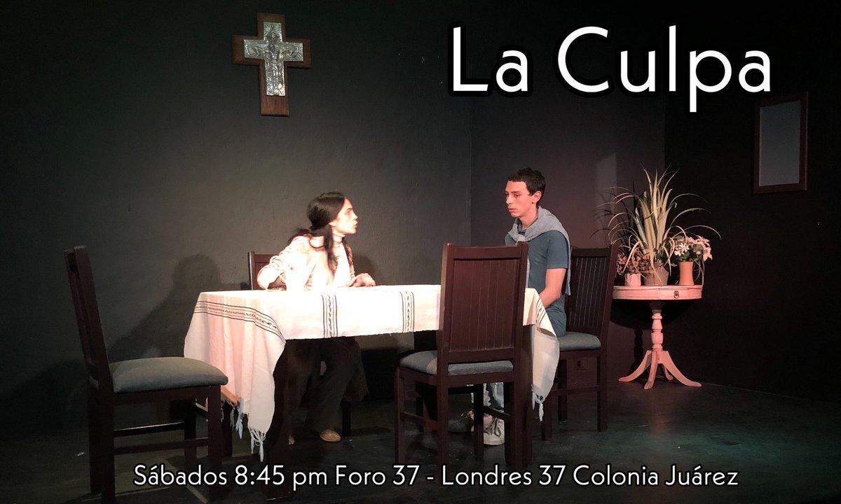 """Los sábados son de Teatro! Sábados de """"La Culpa"""" 8:45 pm Foro 37 - Londres 37 Colonia Juárez - Boletos en taquilla y Boletopolis #loveislove#lovewins#pride#morelovelesshate#consumeteatropic.twitter.com/Ubb1YZXURX"""