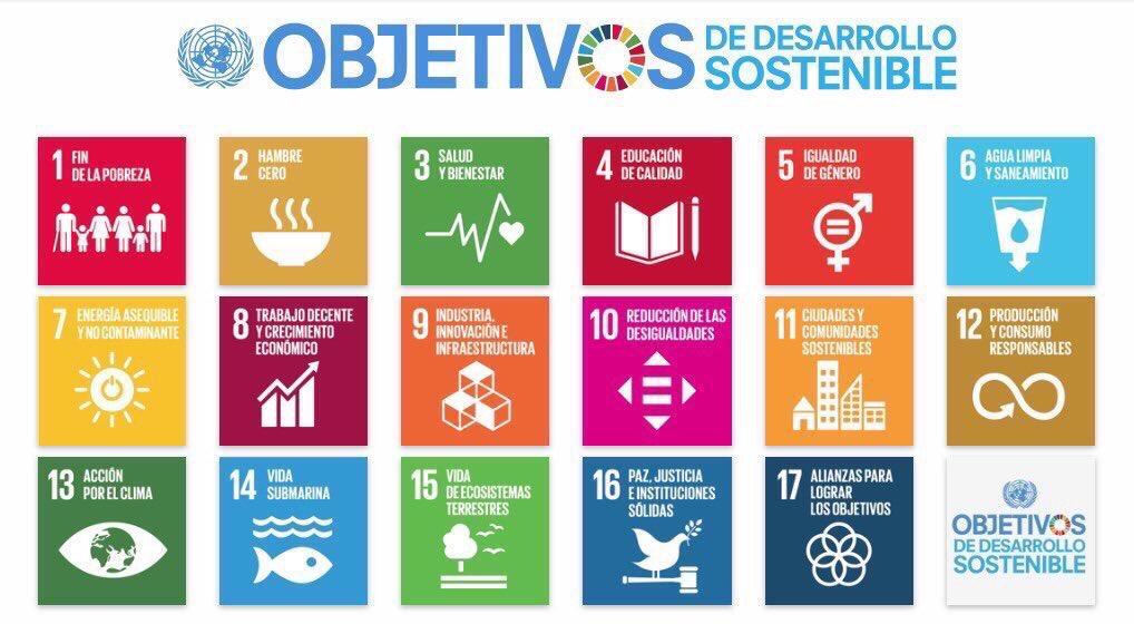 Objetivos de Desarrollo Sostenible. #ODS Un cuento que hay que contar todos los días; es el futuro de todos.