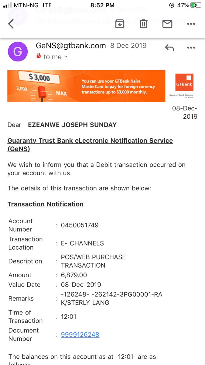 @gtbank_help i want GTbank to assist me in getting my money back..below is the transaction details pic.twitter.com/A9crEW3bWS