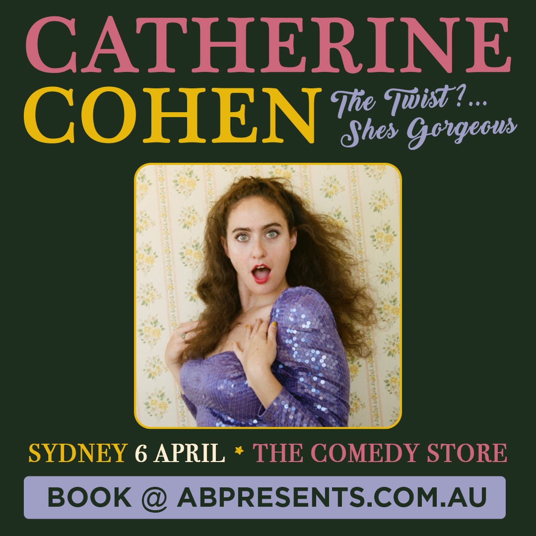 SYDNEY | Catherine Cohen is ready to charm you with a show about living, laughing, loving and losing your debit card five times in one year! 🗓️ SYDNEY: 6 April @ The Comedy Store 🎟️ Book Tickets @ https://t.co/m7YVl4G4Jk https://t.co/2sdI3Pc9Ht
