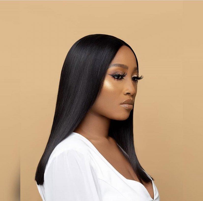 Esther is 💣  in this wig look ❤️❤️❤️💜  👩🏿🦱 @esther_biade   #ZenMagazine #bbnaija #bbnaijaupdates
