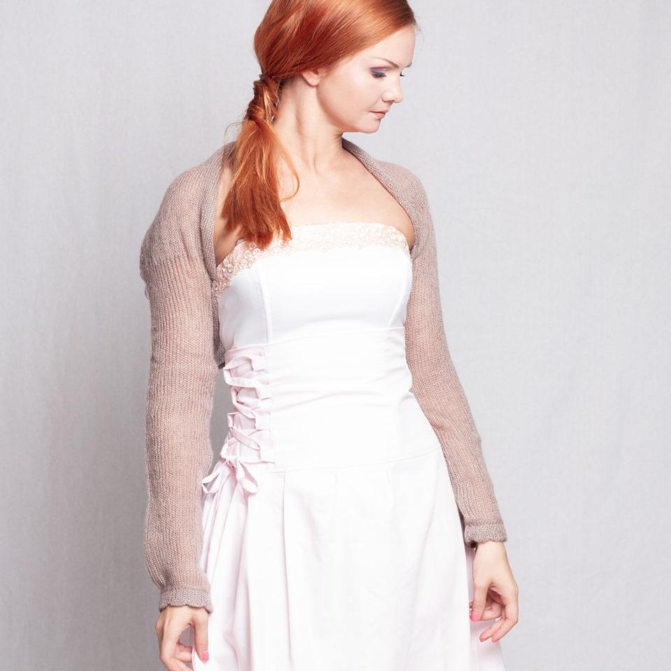 #Wedding #Shrug #Bolero #Jacket #knit #BridalCoverup #mohair #silk #evening #sweater #etsyhandmade #supersoftknits  @Etsy