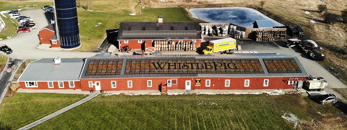 WhistlePig Solar Array | Same Sun of Vermont http://bit.ly/37E3HCt #SolarPanel #GreenEnergy #Sustainability #EcoConscious #Whiskey @PanasonicUSA @WhistlePigRye