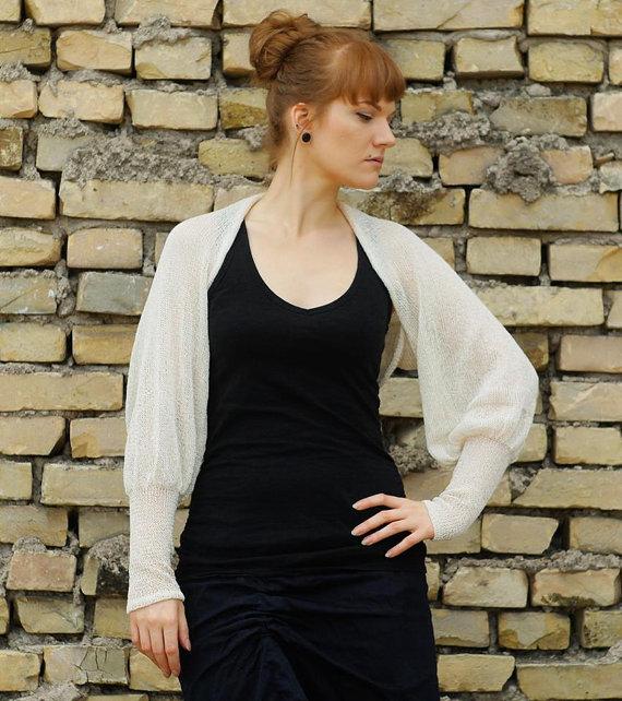 #Cashmere #bolero #Bridalbolero #Knit #dresscoverup #Bridal #Jacket #soft  #Sweater #handmadeclothing  @Etsy