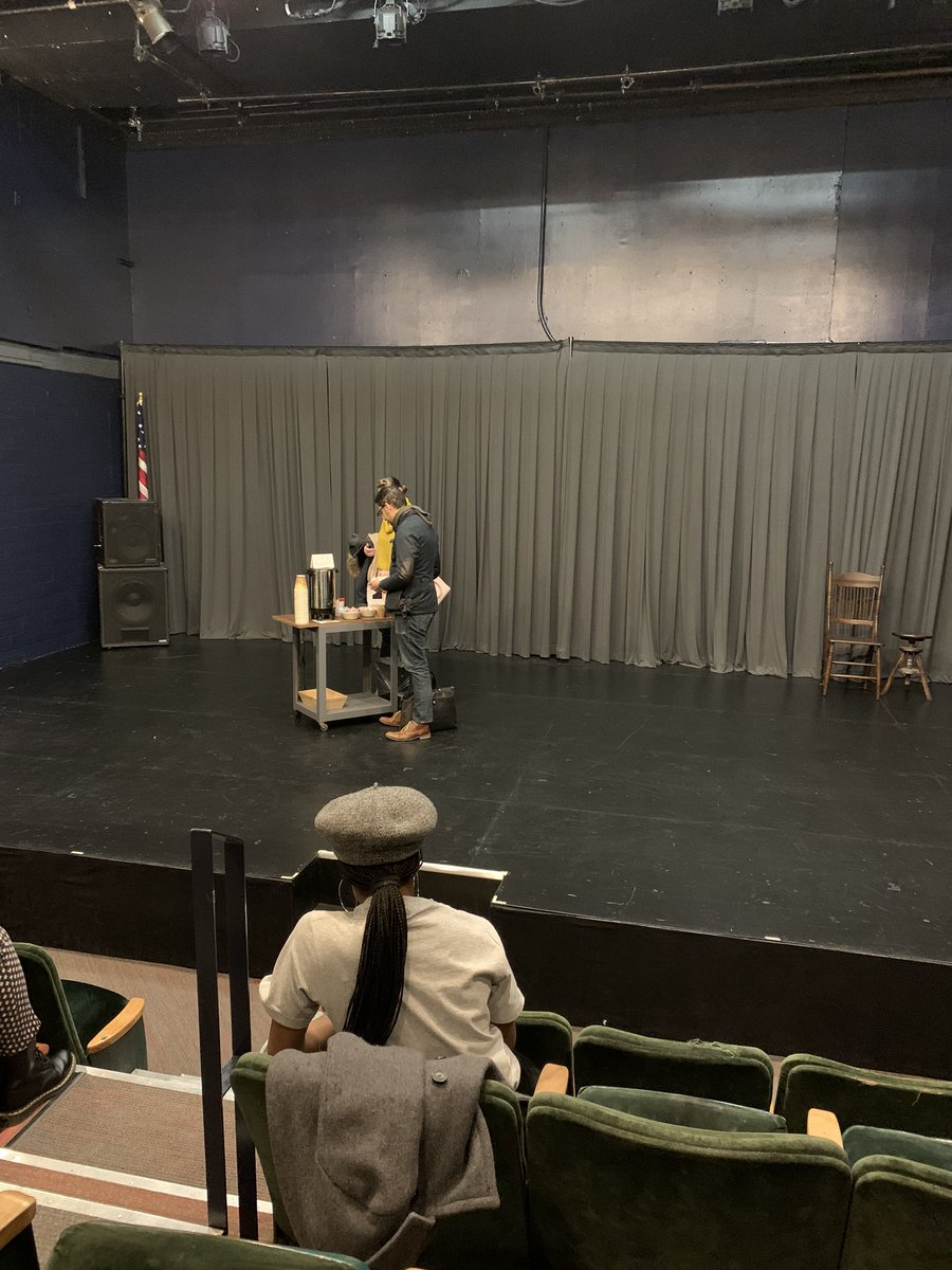 I witnessed a beautiful, poignant, communal theater experience tonight: #WhereWeStand at @WPTheater. Don't miss @DonnettaLavinia's brilliant performance.pic.twitter.com/bNzgcExK5v