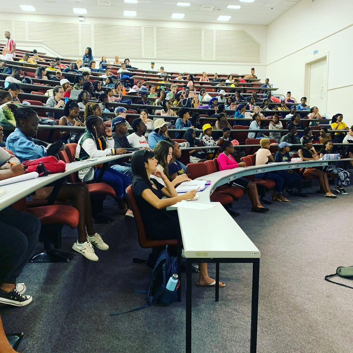 All #classes are in full swing over the past two weeks. Our #students are busy walking the streets of #Makhanda #interviewing, #filming and taking #photographs. Our #JMS1 class, which is bigger this year, are busy with a #MappingTheFields module