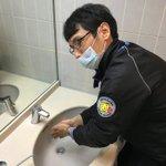 Image for the Tweet beginning: こんにちは、指導員の堀です。インフル、風邪、コロナ予防のため、教習と教習の間に石鹸でゴシゴシしています。 皆さんも気をつけてくださいね! #ネヤドラ #教習所 #予防