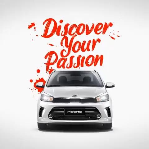 Let passion drive you. #Pegas