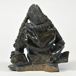 Image for the Tweet beginning: We love this #CapeDorset carving,
