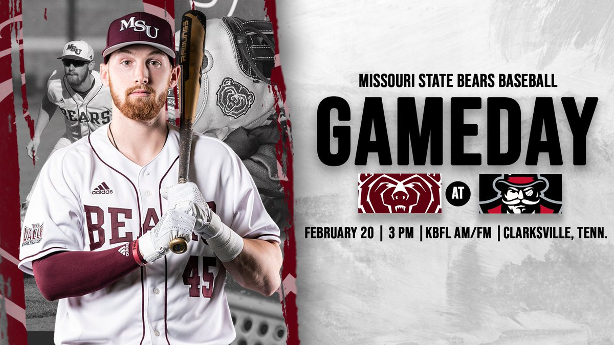 The #MSUBears ready themselves for a busy weekend, beginning with a stop at @AustinPeayBSB to start the Turface Classic.   Austin Peay  3 p.m. (CDT)   Clarksville, Tenn.  #MSUBearspic.twitter.com/HN0InM4ezG