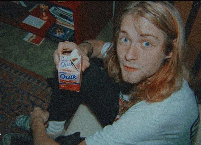 Happy 53rd birthday Kurt Cobain.