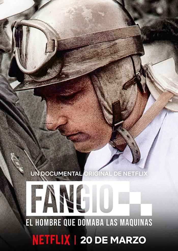"""20 marca, czyli dokładnie za miesiąc premiera dokumentalnego filmu """"Fangio: Człowiek, który poskromił maszyny"""" produkcji Netflixa.  #F1pl #ElevenF1"""