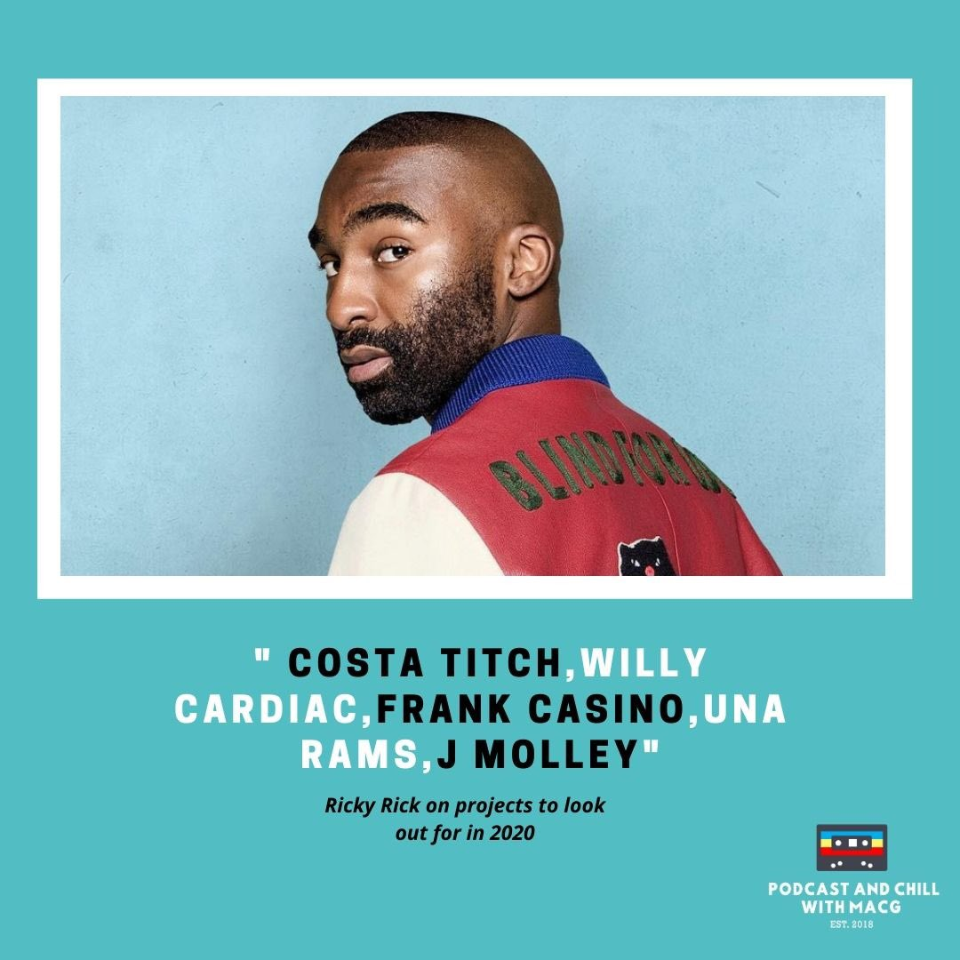 Look out for big things @rikyrickworld will be doing in 2020.   It was a great hanging out with him at the #podcastwithmacg <br>http://pic.twitter.com/GWQiCQrQK6