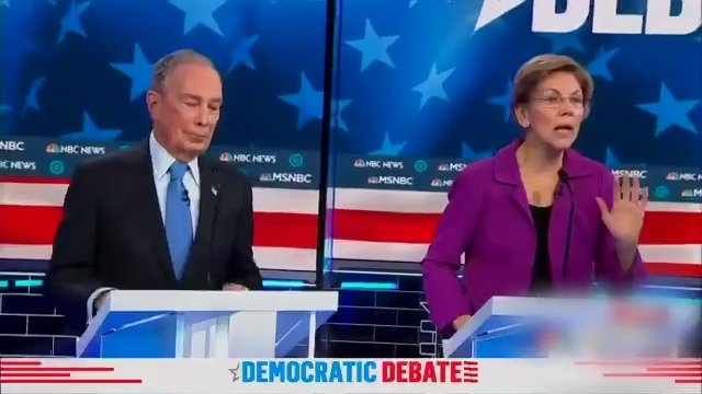 Elizabeth Warren Eviscerated Mike Bloomberg Over His Treatment of Women at the Democratic Debate