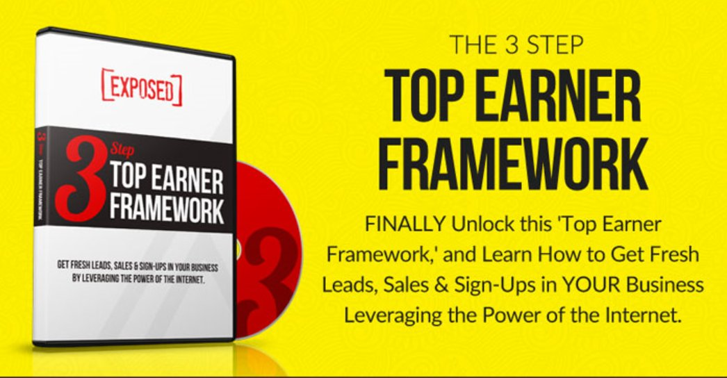 Tired of Chasing and Begging People to Join Your MLM??  FINALLY! Unlock the 3-Step Top Earner Framework, and Learn How to Get Fresh Leads, Sales & Sign-Ups in YOUR Business by Leveraging the Power of the Internet. #NetworkMarketing  #MLM    http://tcpros.co/LGIPq