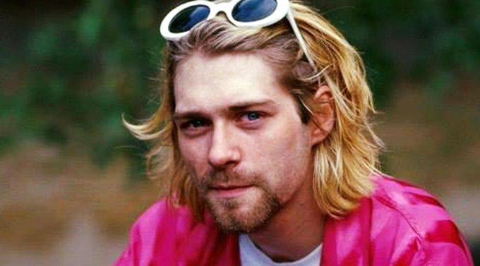 Happy birthday to Kurt Cobain (born today in 1967)