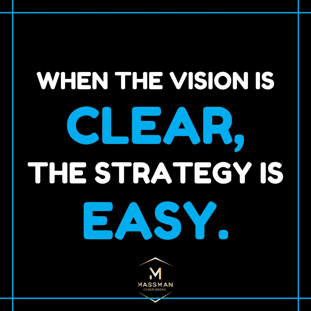 Get a better understanding of how your vision, values, goals and strategy can help you build a strong company and then put each one to use correctly. - Follow Us - @MassManOfficial  -  - Hashtag:- #money #benjamins #investing #wallstreet #stocks #business #rich #millionpic.twitter.com/t5NmOdxJE7