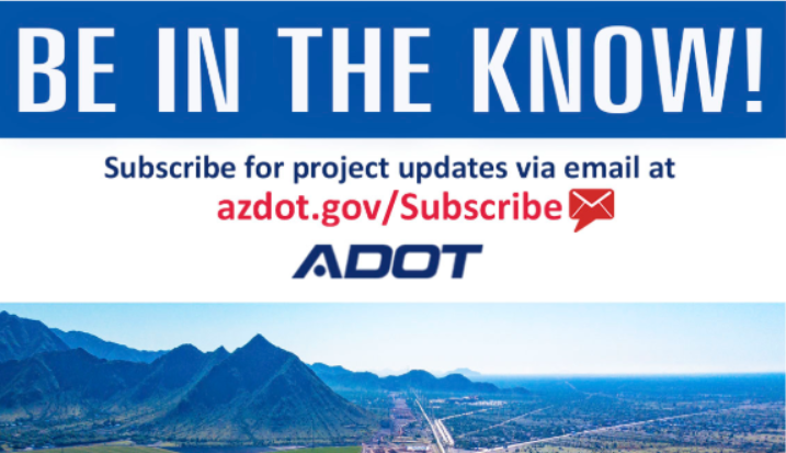 Get the latest on road projects in YOUR area via email! Sign up here: bit.ly/31vwbwx