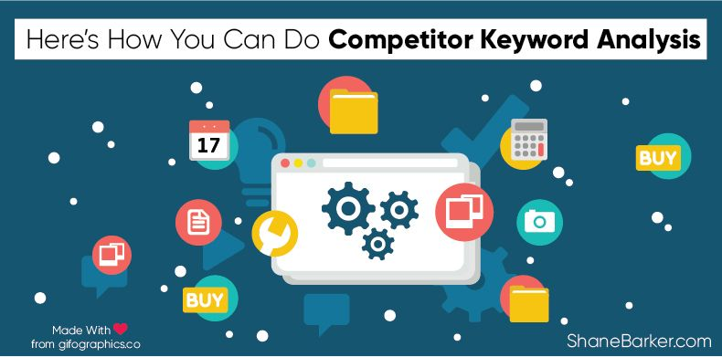 Digital marketers and website owners have a common primary goal – to increase traffic on their websites.  Here's How You Can Do Competitor Keyword Analysis.  https://buff.ly/33SqVDZ  via @shane_barker   #digitalmarketing #onlinemarketing #marketingpic.twitter.com/WgTHd9Ro30