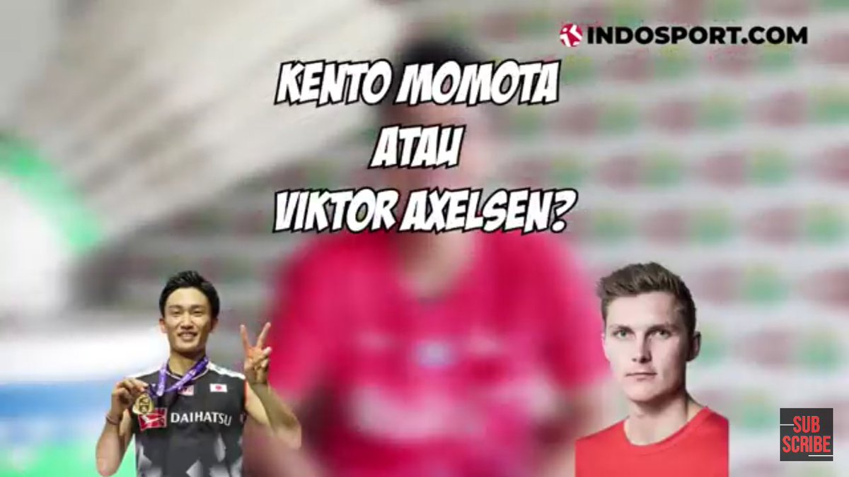 Ginting disuruh milih Kento Momota atau Viktor Axelsen, pilih Momota #MomoGi https://youtu.be/LzVMhmiPgDQpic.twitter.com/oyVZ7Yzk8l