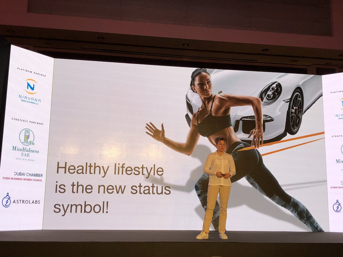 """""""Healthy lifestyles the new status symbol!""""... I agree and I think that #mentalhealth and #wellbeing should be a #HumanRight - #Agenda2030 #DecadeOfAction - @karbasa @frontiersnext #frontiersnext #dubai2020 pic.twitter.com/Ls4GwBRxR9"""