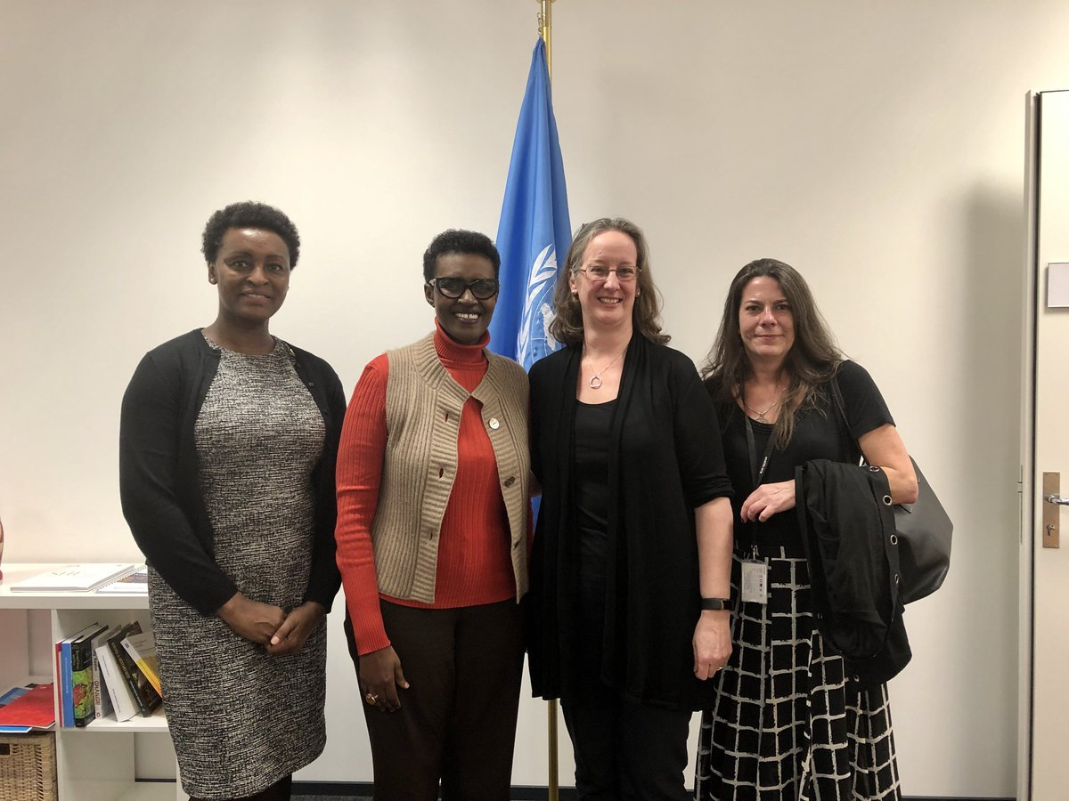 Fascinating discussion with @JuliaBuntingPC, President of @Pop_Council. We will deepen collaboration & use their research to inform policy & practice so that all adolescent #girls & young #women get health services they need & a full round of basic education including #CSE