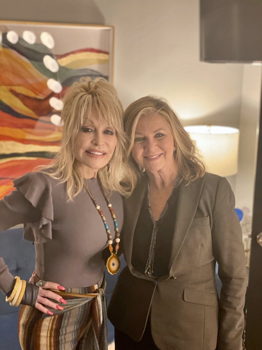 Thank you @DollyParton for all you do for Tennessee.