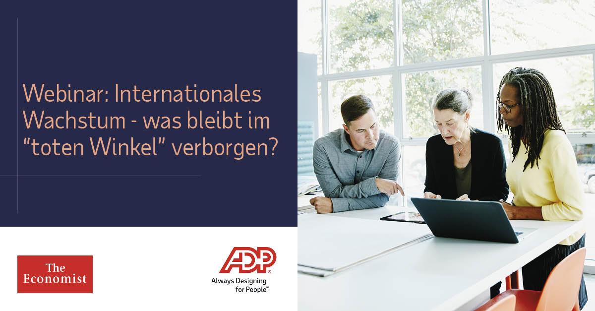 ADP und EIU: Aktuelle Studienergebnisse - das sagen 1,000 HR-Führungskräfte aus international expandierenden Unternehmen. Webinar am 5.03. um 10 Uhr: https://bit.ly/2UfJv6G #Personalkostenplanung # Personalwesen #HR http://bit.ly/3bDN3pNpic.twitter.com/YEeDi4fHCe