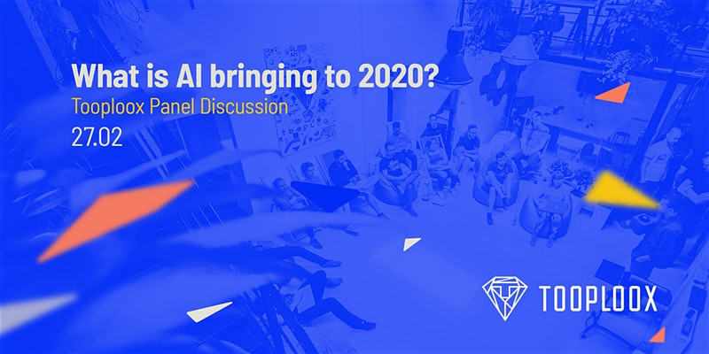 Join our panel discussion next Thursday in San Francisco at @schoolabSF and meet top AI trends leaders! Register: http://bit.ly/Tooploox_Panel_Discussion… #AI #2020AITrends