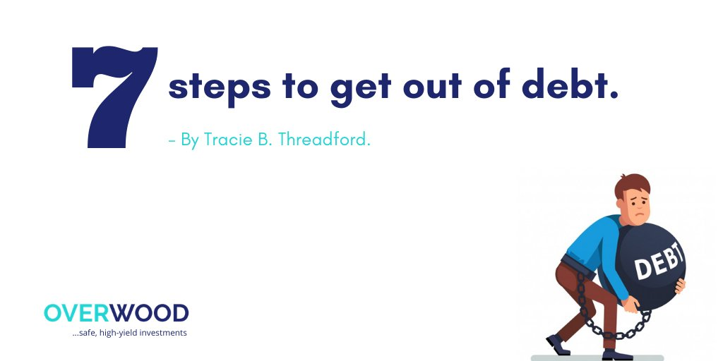 7 steps to get out of debt By Tracie Threadford