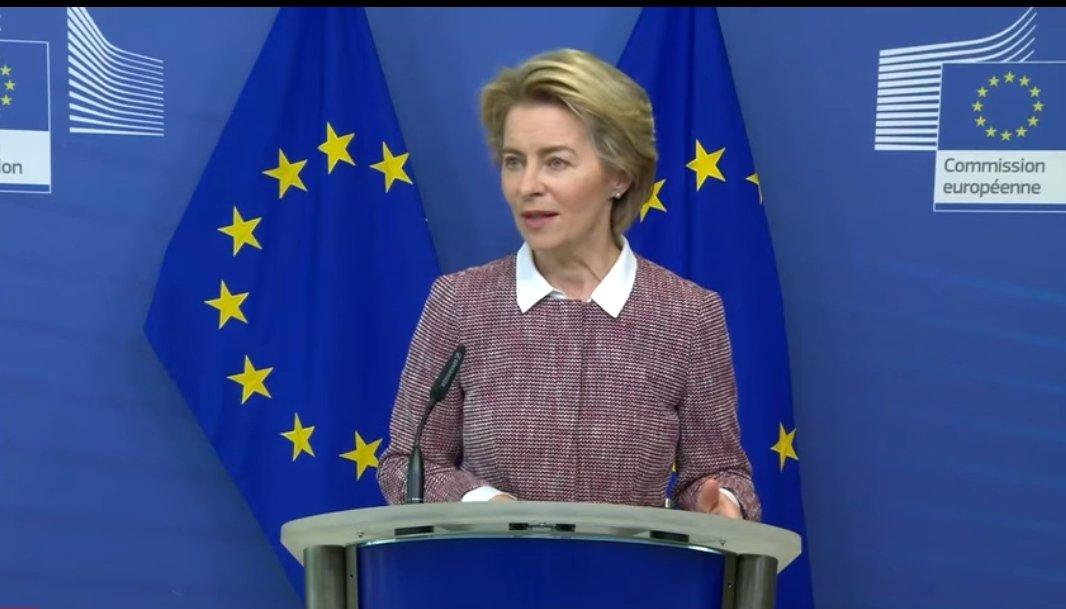 Ursula Van Der Leyen on #EU Commission new #digital strategyhttps://youtu.be/ng-2Pivpt30 #mustwatch #AI