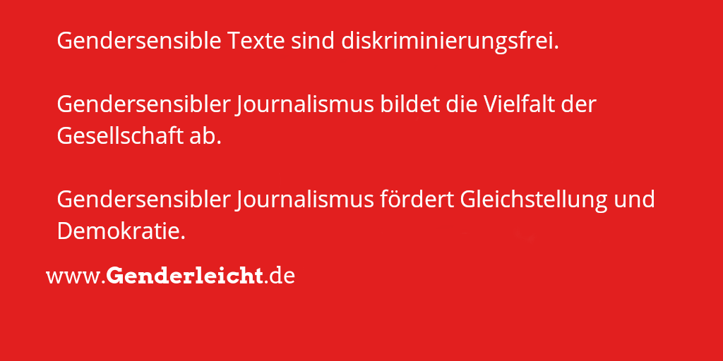 """Gute Argumente zum """"Welttag der sozialen Gerechtigkeit"""" für gendersensiblen Journalismus!  #Berichterstattung #Gerechtigkeit #Sichtbarkeit #gendergerecht"""