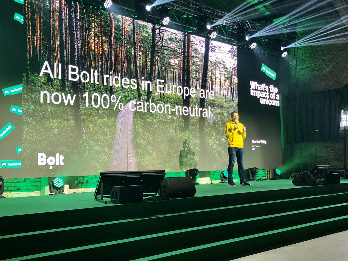 """""""You can raise hundreds of millions in the Baltics, you don't need to move somewhere else"""" Martin Villig @waldec from Bolt @boltapp endorses growing your company right here in Baltics! #techchill2020 https://t.co/lIV3EU2hnM"""