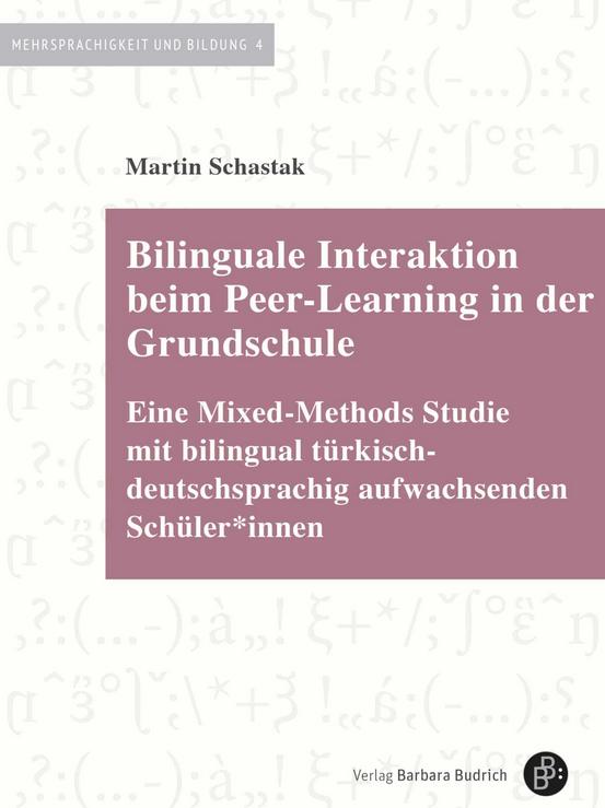 """#Buchtipp: Die Monografie """"Bilinguale Interaktion beim Peer-Learning in der Grundschule"""" von Martin Schastak (@dipf_aktuell) ist im @barbarabudrich Verlag als #OpenAccess erschienen: https://bit.ly/38LkFzV.pic.twitter.com/4XUehjs7lN"""