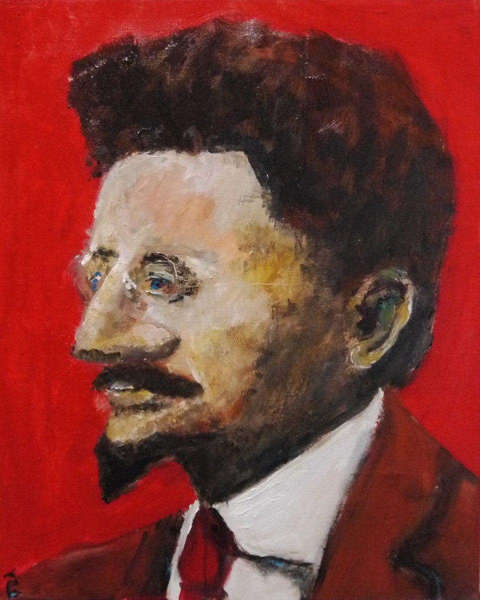 visualartopen#VAO20 ENTRY 199| David Abse - Trotsky, Nadezhda Krupskaya.  http://davidabse.com / @davidabse #artcompetitions #artprize#visualartopen #artcollector #artist #emergingartist #interiorart #artfair #artmuseum#timemagazine #visualartistsassociationpic.twitter.com/9aOHesnUti